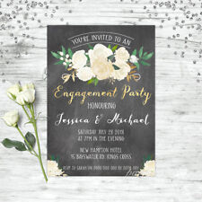 ENGAGEMENT INVITATION BOHO FLORAL WEDDING INVITE ENGAGEMENT PARTY INVITATIONS