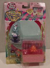 LITTLEST PET SHOP SHIMMERING MER PETS Kissing Sea Bunny MOC KENNER 1996