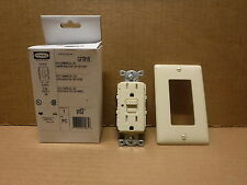 Hubbell Receptacle Outlet GFTR151 15A Ivory