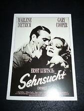 DESIRE, film card [Marlene Dietrich, Gary Cooper]