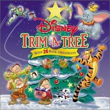 Disney Trim-A-Tree : With 24 Book Ornaments by Disney Book Group Staff (2003, Children's Board Books)