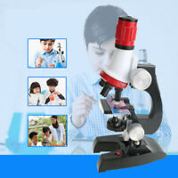 1200x Microscope Kit for Child Refined Education Science Toy Gift Student School