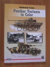 PANTHER VARIANTS IN COLOR  by WALDEMAR TROJCA