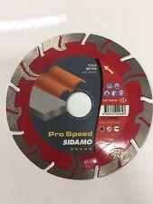 disque diamant pro speed  tronçonnage béton tuile parpaing pavé  d 125  sidamo
