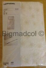 IKEA lappvedel SINGLE 150 x 200 cm copripiumone e federe per cuscini Color Crema Nuovo