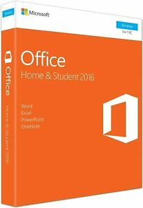 Product Key For Office 2016 Professional Home and Student -English - Sealed Box