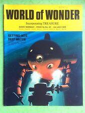 World of Wonder - No 67 - 3rd juillet 1971 - obtenir dans Profond eau - MAGAZINE