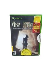 Original X-Box ARX FATALIS Case and Cover Art no Booklet Free Shipping