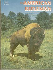 American Rifleman Magazine - February 1970 Issue - Bison
