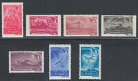 Romania 1948 MNH Mi 1125-1131 Sc B404-B408,CB18-CB19 Romanian Army,Forces **