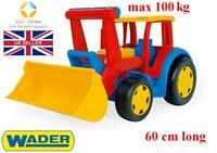 NEW WADER GIANT TRACTOR 60 CM LONG BEST TOY FOR KIDS GIGANT HIGH QUALITY