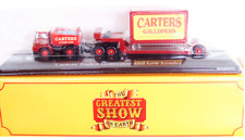 """Camion Circo """"Carters"""" Foden Generator and Low Loader 1:76 Atlas Circus (n.101)"""