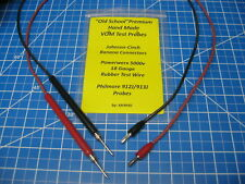 Custom VOM/DVM Test Probe - Vintage Gear - Banana Plugs to Philmore 912J & 913J