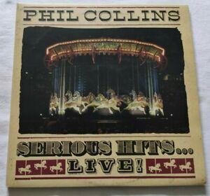 PHIL COLLINS 2xLP SERIOUS HITS LIVE 33 GIRI VINYL 1990 ITALY WEA 903172550 NM/NM
