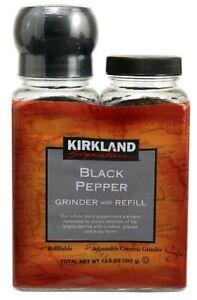 Kirkland Signature Black Pepper Grinder with Refill 12.6 OZ