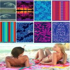 Floral Beach Bath Towels