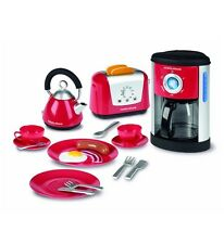 Casdon Morphy Richards Toy Play Kitchen Set Kettle Toaster Cutlery Coffee maker