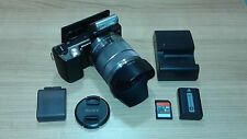 Sony Alpha NEX-5K 14.2MP E OSS 18-55mm Zoom Lens DSLR Digital Camera, Black