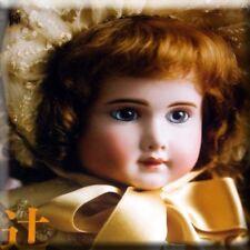 ms H 13 BOOK - Bisque Doll Kestner Bru Steiner Jumeau Brevete