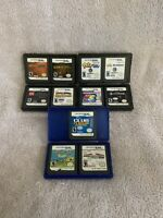 Lot of 11 Assorted Nintendo DS Lite/DSi Games + Game Cases