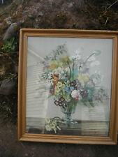 Original Vernon Ward 50s Print Spring Colour 1950. Original Frame & Glazed.
