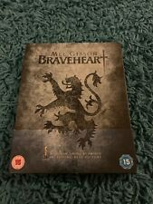 Braveheart Blu Ray Steelbook Mel Gibson Classic Action Uk Release