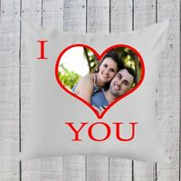 Personalised Valentines Gift  l Love You Pillow Christmas, Birthday Present
