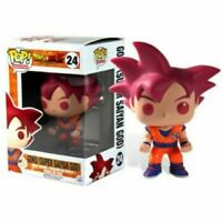 FUNKO POP 24 GOKU SUPER SAIYAN GOD FIGURINE VYNILE