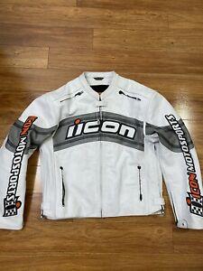 Icon Daytona Leather jacket 2XL