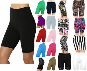 Ladies Cycling Shorts For Casual Wear & Gym/Running Leggings Sizes 8/16