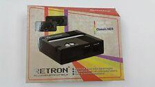 Retron 1 NES System Nintendo Game Console 8-Bit Top Loader Black Hyperkin