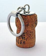 Portachiavi per tappo di sughero bottiglia di vino - Idea Regalo per Sommelier