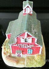 "Vintage Liberty Falls Ah101 Timberline Lumber 1996 Miniature Lumber Shed 3"" Tall"