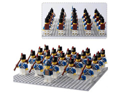 21Pcs Minifigures Lego MOC Hero Navy Imperial Army Soldiers Protection Royal Toy