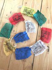 10 Mini Tibetan Prayer Flags Meditation Buddhism New Age Religion