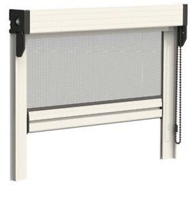 zanzariera zanzariere verticale ANTIVENTO con CATENELLA per porte e finestre