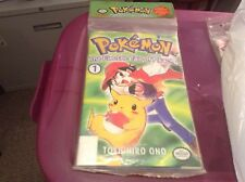 POKEMON: ELECTRIC TALE OF PIKACHU 1-4 (Viz 1999) SEALED 4 PACK (VF/NM) NINTENDO