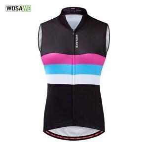 Women Cycling Jersey MTB Bike Sleeveless Jersey Maillot Bicycle Vest ciclismo