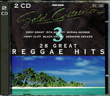 28 GREAT REGGAE HITS - GOLD COLLECTION 2 CD COMPILATION