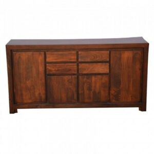 Contemporary Boston Sideboard Brown (MADE TO ORDER)