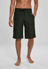 URBAN CLASSICS Pantaloncini da surf Costume da bagno uomo Black Size L