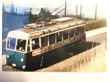 Photo  CP - TRAMWAY - LIEGE - Ancienne Trolleybus - Pub Devos-Lemmens