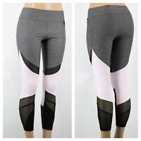d0a3f6ebefd74 NWT Victoria Secret PINK Large bonded Crop legging mesh Mint ...