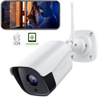 Security Outdoor IP Camera 1080P Weatherproof WiFi CCTV FHD Camera Night Vision