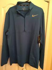 Nike Aeroreact golf shirt sweater retail $135