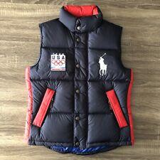 Ralph Lauren Men's Down Puffer Vest 2010 Olympics USA Size Small