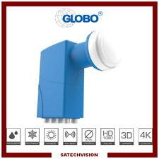 LNB Octo Globo PRO8 Tête Universelle 0,1 dB 8 Sorties Full HD 3D Ultra HD 4K