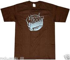 HINDER GET STONED T-shirt Marijuana 420 Blunt Weed Tee Adult MEDIUM Brown New