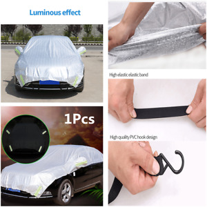 1x Car Cover Rain Sun Snow Dust UV Resistant Waterproof Protection Accessories