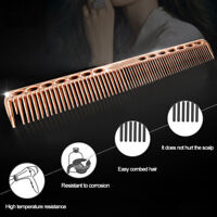 HO_ 1Pc Portable Ultra Thin Hairdresser Hair Styling Tool Hairdressing Steel Com